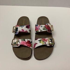 Steve Madden Brando Floral Birkenstock Sandals